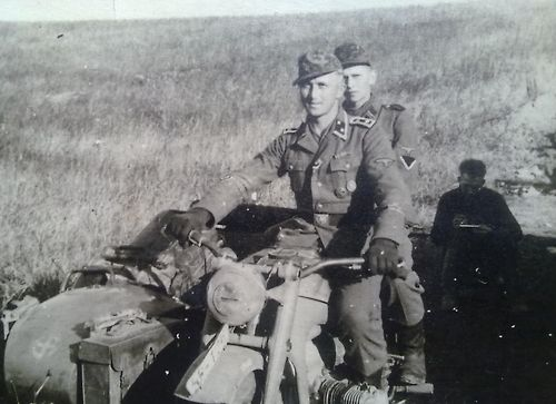 Finnish soldiers from 5 SS Wiking Division.
