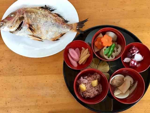 生後100日のお祝い☆お食い初めメニューの画像