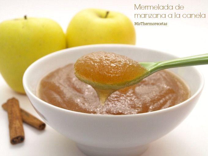 Mermelada de manzana a la canela Thermomix