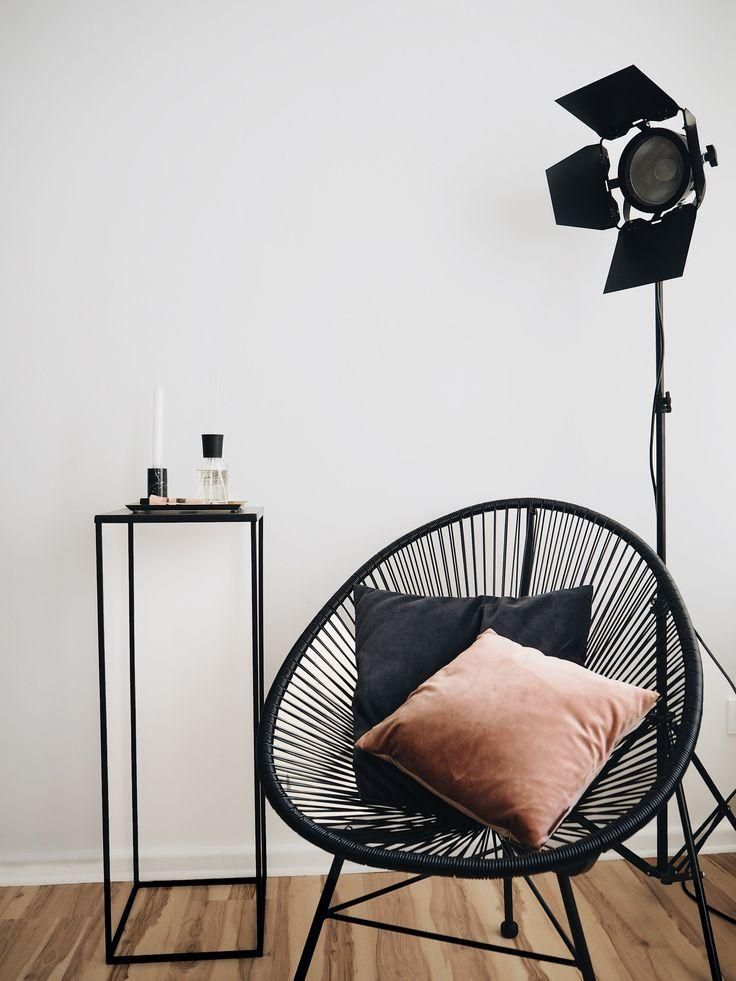 Chaise Design Noire Idee Deco Maison Du Monde Fauteuil Deco Deco Salon