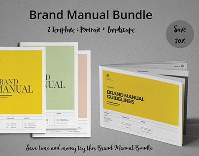 """Check out new work on my @Behance portfolio: """"Brand Manual Bundle"""" http://be.net/gallery/40624477/Brand-Manual-Bundle"""