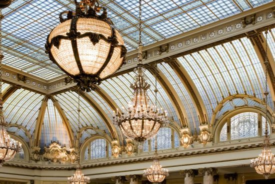 The Palace Hotel, San Francisco - Garden Court Chandeliers | San Francisco, CA