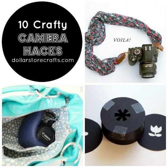 10 Hacks for Crafty Photographers