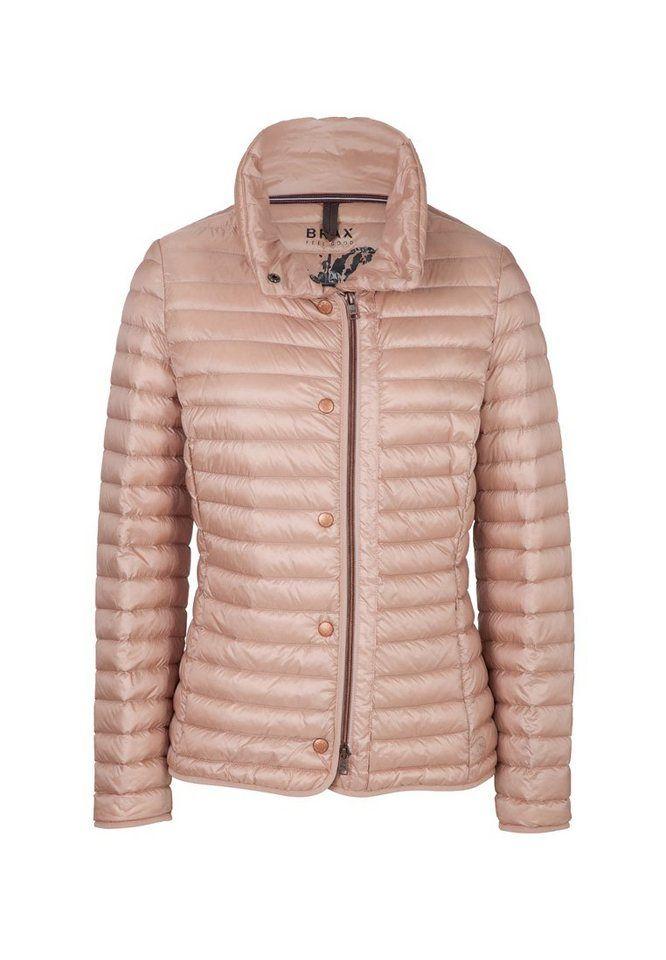 #Brax #Damen #BRAX #Jacke #�BERN #� #rosa Leichte Daunenjacken sind das ´´Must have´´ für einen modischen Style. Sie sind einfach aber auch superbeqüm, leicht, praktisch und absolut topmodisch. Über neü Farben und Variationen in Form und Stepp zeigen sich die Light Down-Jacken recht abwechslungsreich in neün Facetten. BRAX setzt das große Trend-Thema mit dieser modernen Damenjacke um, die sich neben anspruchsvoller Steppung und moderner Silhoütte durch eine ultraleichte Daune auszeichnet…