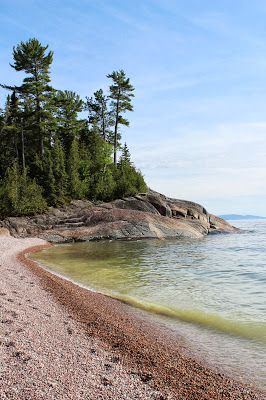 Agawa Beach, Lake Superior,  Canada
