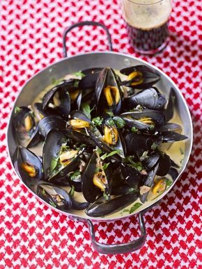 Mussels with Guinness | Jamie Oliver Super easy, serves 2
