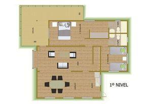 :: CASUR :: - Casas Prefabricadas Modelo Coliumo 3000