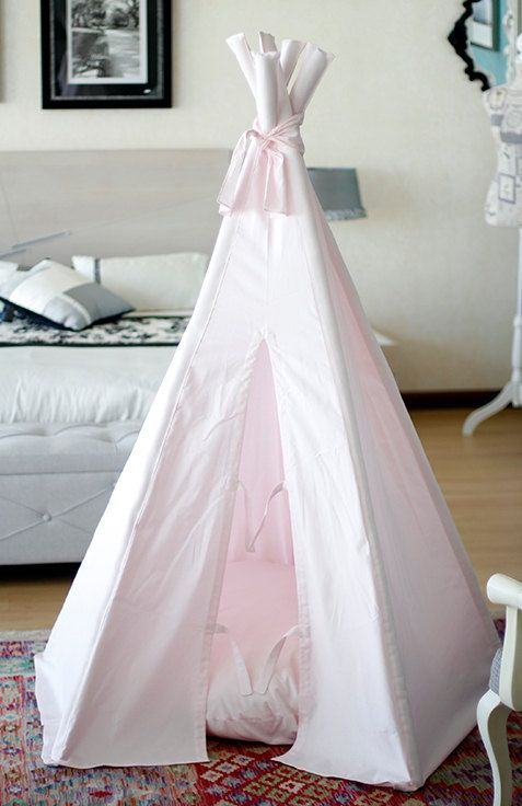 b b rose tipi un tipi parfait pour chambre de filles by tipikids on etsy tipi pinterest. Black Bedroom Furniture Sets. Home Design Ideas