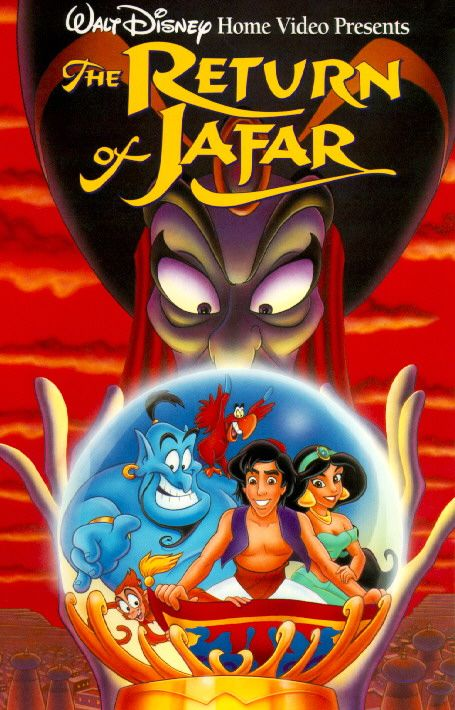 Day 20 - Favorite Sequel: The Return of Jafar. By far the very best sequel Disney ever made, and one of the firsts. It is also one of the few to have a big name attached to it because Robin Williams agreed to come back and voice Genie.