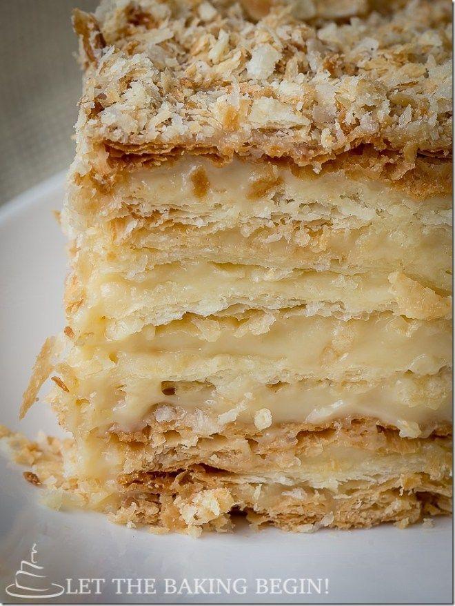 """. """"Láska tento recept Je to ještě lepší než napoleonských koláče jsem se snažil v Paříži Vážně!"""". - S přehledem, jako je tato, víte, to dort je nahraditi LettheBakingBeginBlog.com!"""
