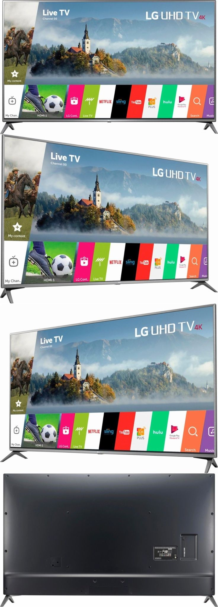 Televisions: Lg 75 Inch 4K Ultra Hd Smart Tv 75Uj6470 Uhd Tv Brand New -> BUY IT NOW ONLY: $1897.95 on eBay!