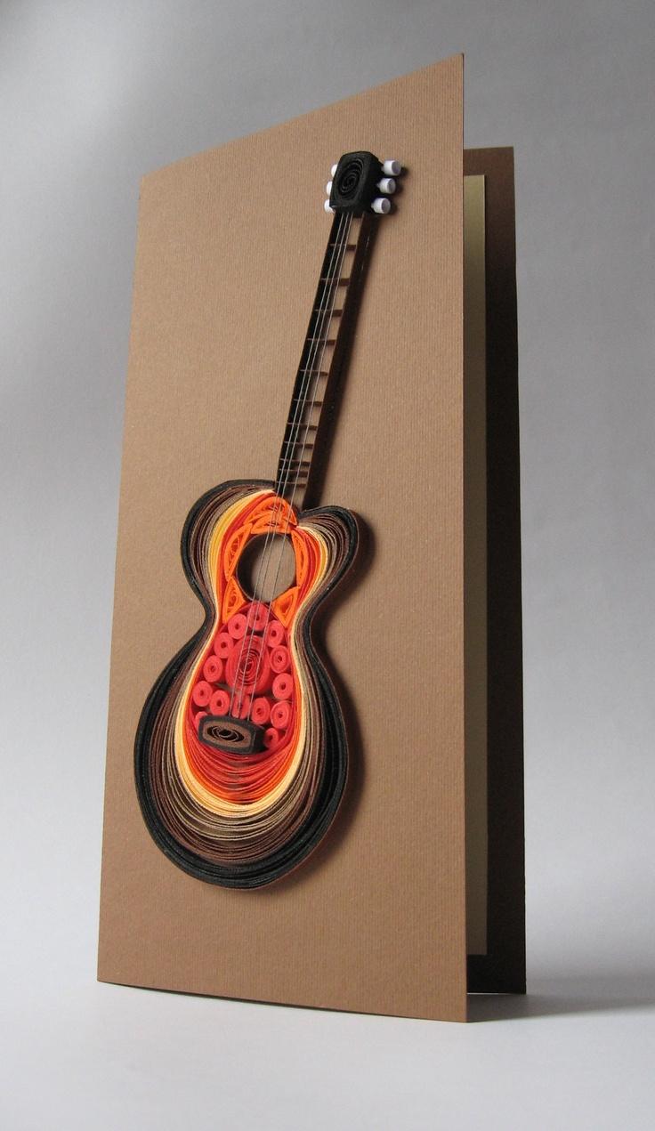 Открытки гитара