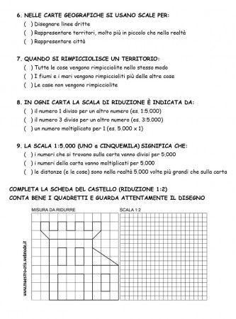 VERIFICA ORIENTAMENTO E CARTE CLASSE TERZA PAG 3