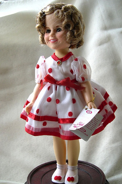 1982 Shirley Temple Collectible Doll, Ideal Toy Co ... off to a new home!