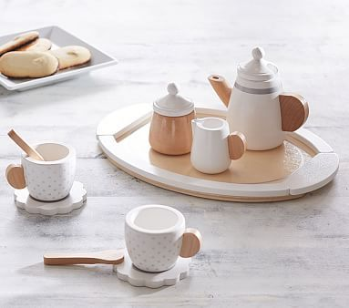 Wooden Tea Set #pbkids