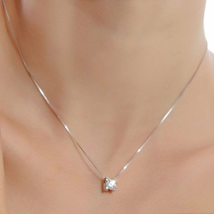 Silver-Platinum-Plated-Round-Crystal-Necklace-Pendant-Fashion-Lady-Jewelry-Wholesale-Necklaces-Pendants-DZ826/1898273426.html >>> Read more at the image link.
