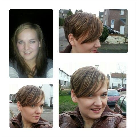 Before and after pixie cut - lorrye.net