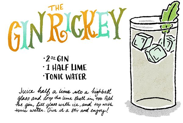 Friday Happy Hour: The Gin Rickey (Revisited)