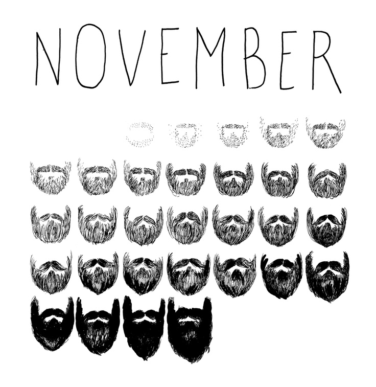 no shave NOVEMBER!!