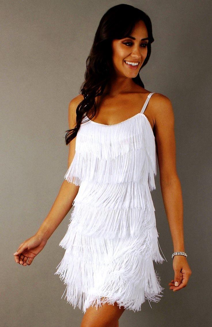 Платье с бахромой | С чем и куда носить платье с бахромой
