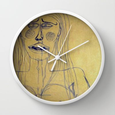 Her Wall Clock by Dali's hunger - $30.00