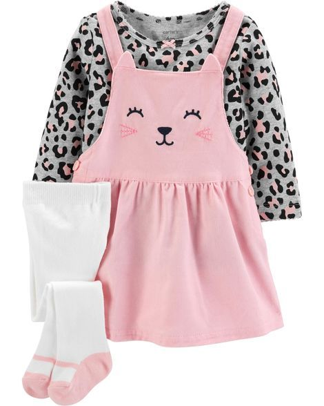 e8400b525 3-Piece Jumper Set from Carters.com. Shop clothing & accessories from a  trusted name in kids, toddlers, and baby clothes.