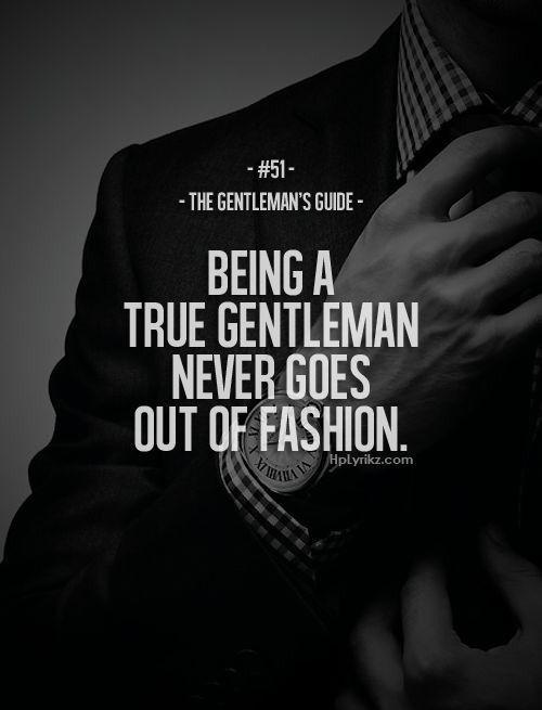 a gentlemen