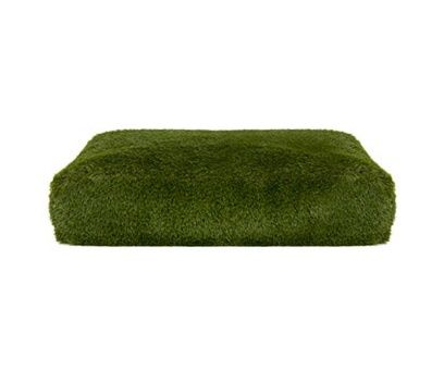 Artificial grass floor cushion