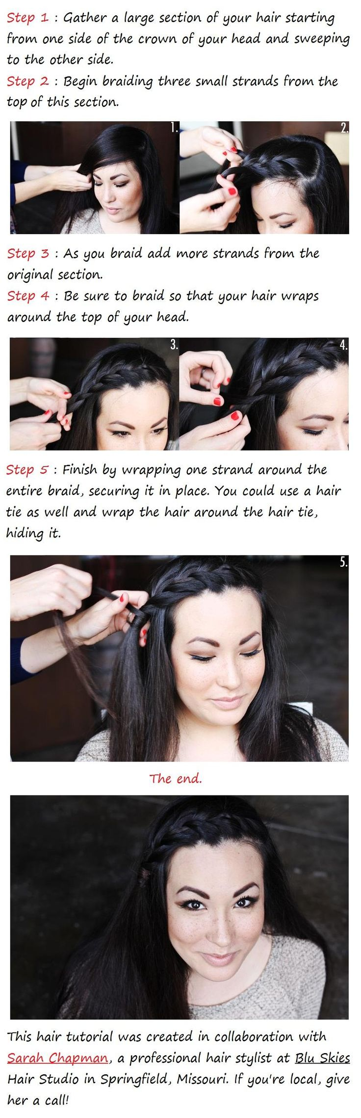 best hair images on pinterest braids hair dos and hair colors