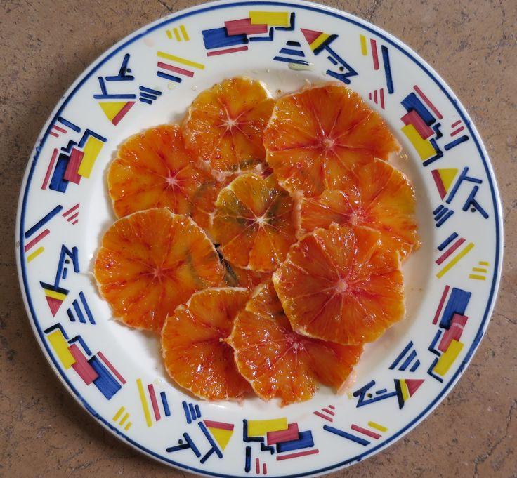 Oranges à la cardamome