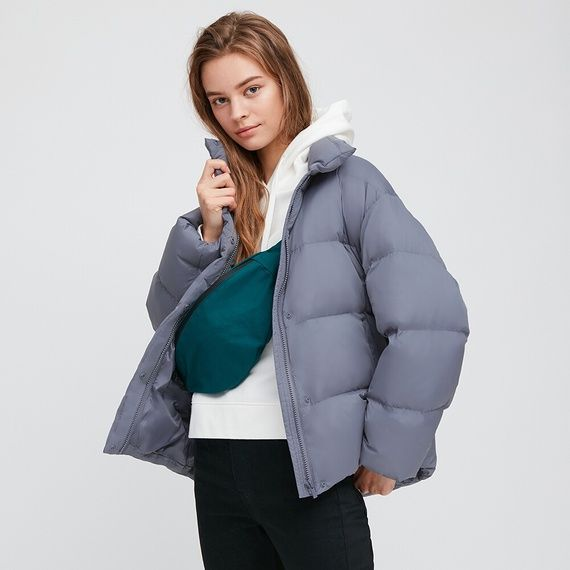Women ultra light down cocoon jacket | Cocoon jackets, Jackets ...