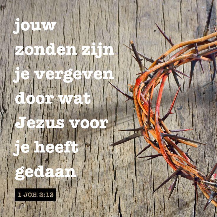 """1 John 2: 12 """"ik spreek je vrij – je zonden zijn vergeven ik gooi ze in de diepste oceaan je mag vanaf vandaag opnieuw beginnen alsof je nooit een misstap hebt begaan"""" - Tineke Tuinder / Sestra"""