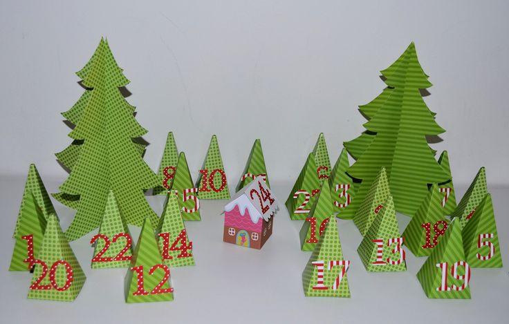 Ein origineller adventskalender zauberwald f r kleine for Adventskalender ideen fa r erwachsene