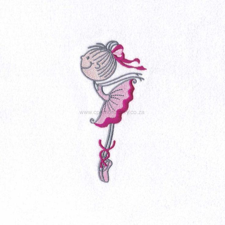 Stick Figure Ballerina No6