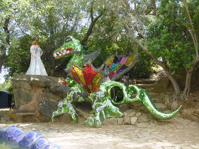 A visit to the Tarot Garden and a look at its symbols