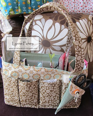 Stampin Up Demonstrator - Lynne Fahey (Spiralz and Curlz): Orchard Harvest Tote Bag.....