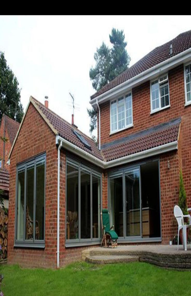 Pin On Home Exterior House Renovation House Extension Plans Small House Extensions