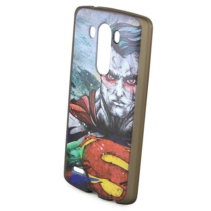 Mobilce   LG G3 MARVEL SUPERMAN Mobilce   Cep Telefonu Kılıfı ve Aksesuarları