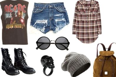 grunge fashion   Grunge Style