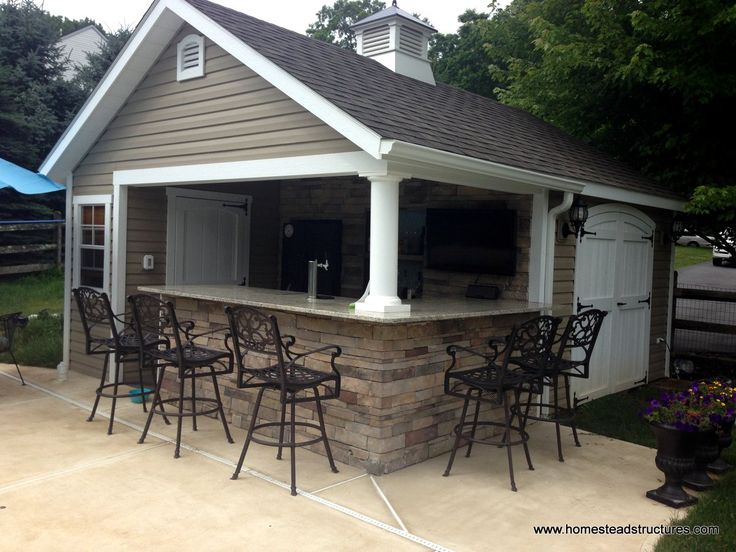 25+ best ideas about Backyard cabana on Pinterest | Scream pubs ...