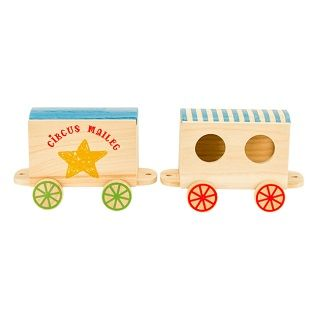 MAILEG CIRCUS WAGONS FOR MICE - $44.95 - The Maileg collection has a unique authentic look and touch created by designer Dorthe Mailil.  #sweetcreations #kids #gifts #maileg #circus