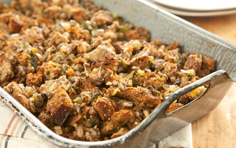 Mushroom Stuffing with Shallots and Fresh Herbs - can be used to stuff ...