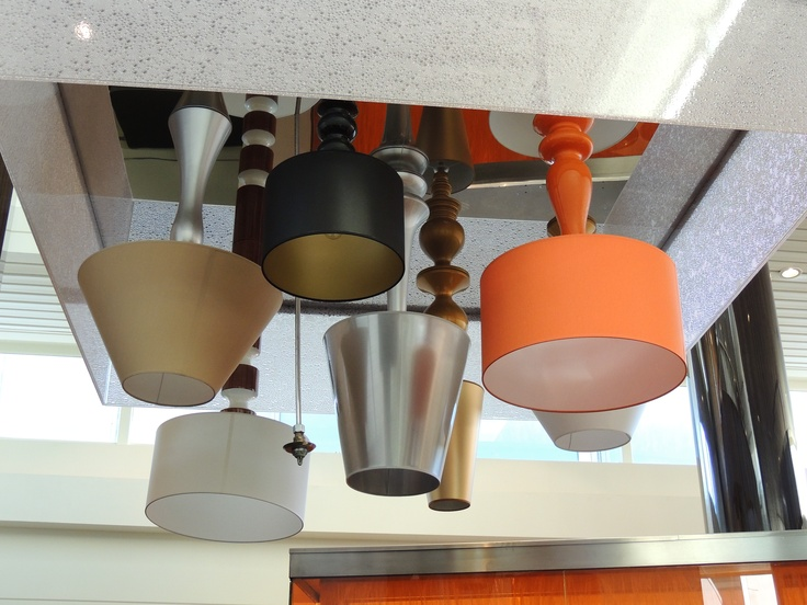 Chair Rail Upside Down Part - 40: Collection Of Upside-down Table Lamps As Light Fixtures! So Cool! From Q