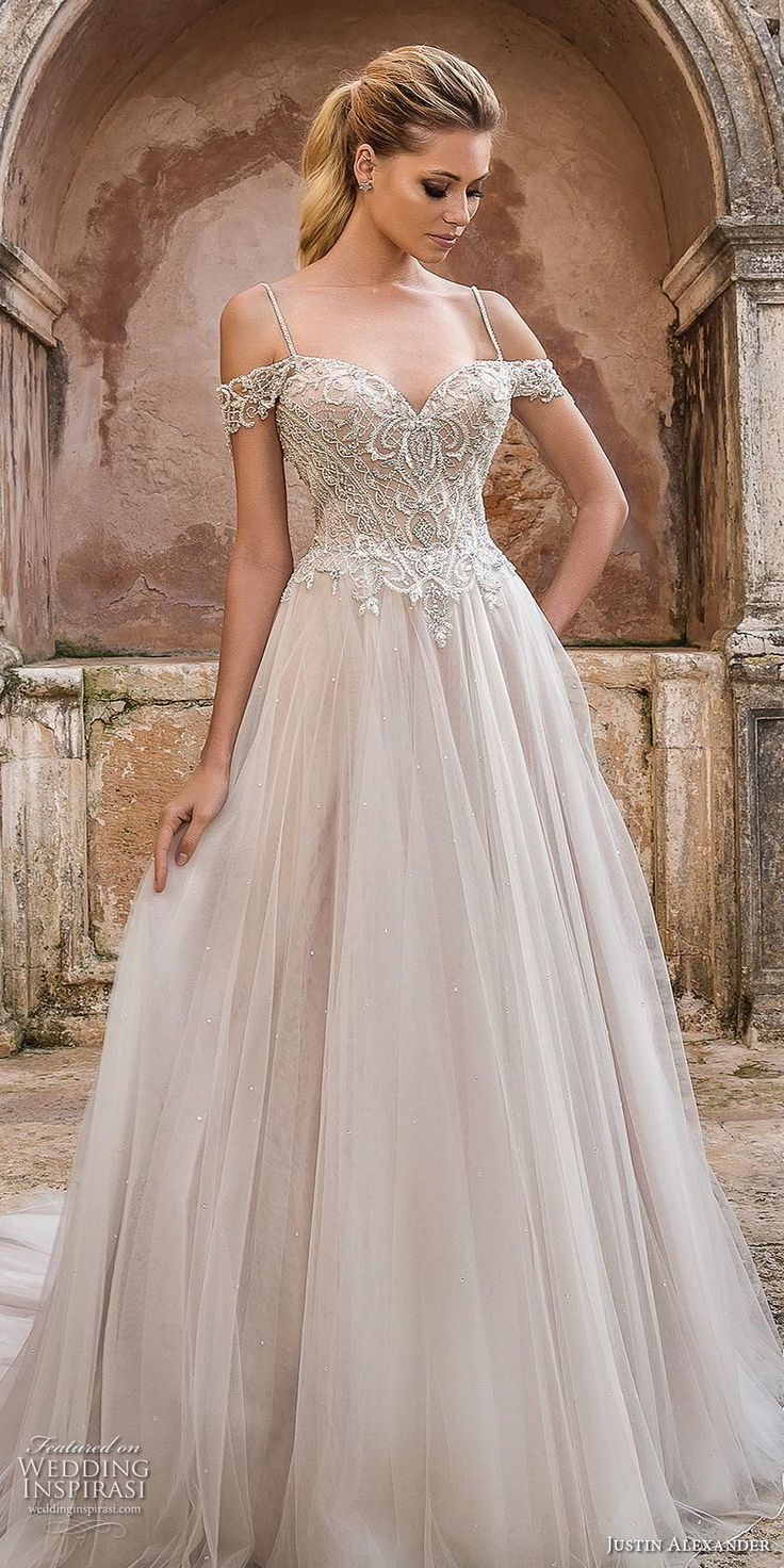 Justin Alexander Spring 2019 Wedding Dresses – Macarena Melody❤🍀
