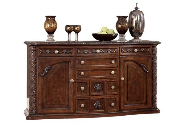 series name north shore item name dining room server model d553 60 dimensions 71w x 20d x 42h weight 269 lbs a deep rich stained finish. beautiful ideas. Home Design Ideas