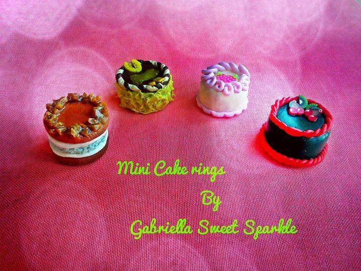 Mini cake rings <3