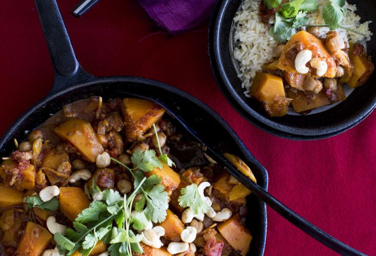 Moroccan Butternut Curry | Nadia Lim