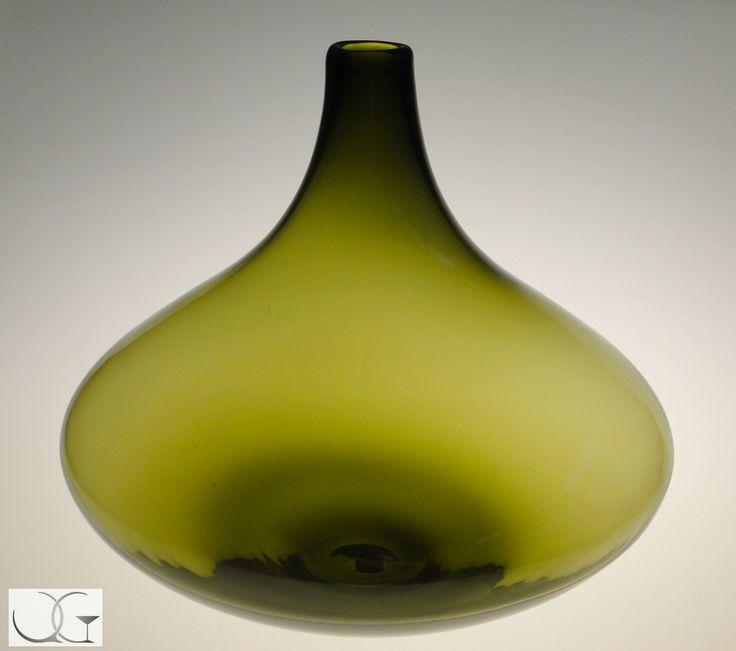 Wazon szklany Drzewko oliwne sferyczny h-31
