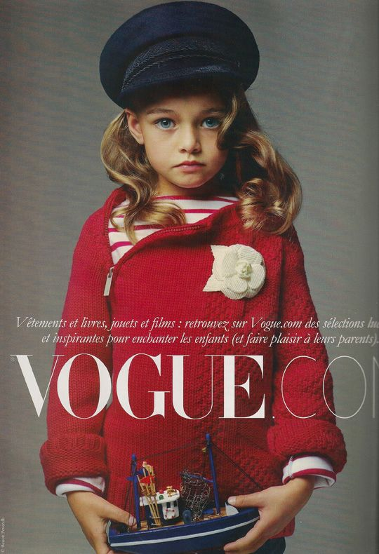 French Vogue enfants