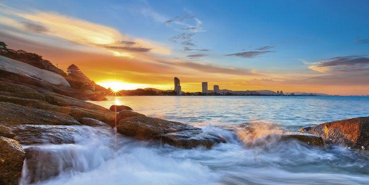 Home affaire Glasbild blau, (B/H): 100/50cm, »Palo ok: Sonnenuntergangszeit am Hua-Hin Strand in Thailand« Jetzt bestellen unter: https://moebel.ladendirekt.de/dekoration/bilder-und-rahmen/bilder/?uid=68a44f91-e215-56f8-bd80-ba614ee4f760&utm_source=pinterest&utm_medium=pin&utm_campaign=boards #bilder #rahmen #dekoration